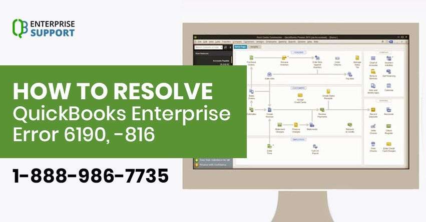Resolve QuickBooks Enterprise Error 6190 816